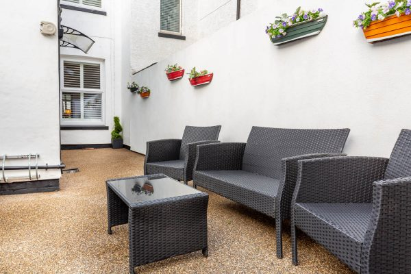 Home page - Back Yard Seating Area