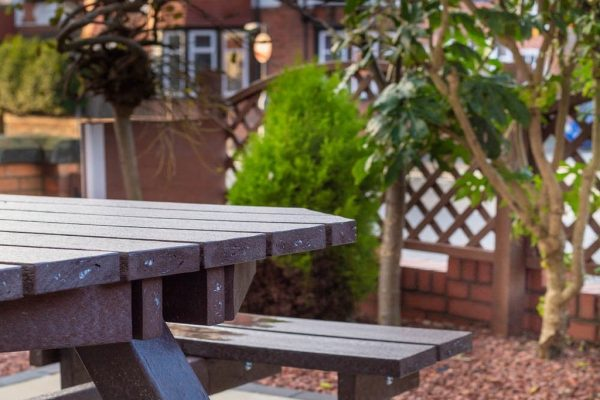 Home page - Picnic Table at the Front Garden